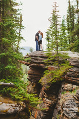 Vikki & Jonathan's Engagement Session (Shauna Stanyer (Northern Pixel)) Tags: lake canada photography engagement jasper alberta pixel session northern horsehoe northernpixelphotography