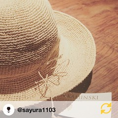RG @sayura1103:  Une chapeau pour prévention des rayons ultraviolets est arrivé. #HELENKAMINSKI#PROVENCE8#松嶋菜々子  紫外線対策用👒届いたっ💕🌻☀️🍧尚ちゃん教えてくれてありがとっ👏✨#日焼けは絶対ダメ🙅#死ぬまで美白#死んでも美白 #Helen_Kaminsk