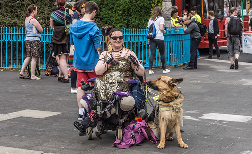 DUBLIN 2015 LGBTQ PRIDE FESTIVAL [PREPARING FOR THE PARADE] REF-106209