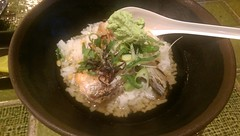 IMAG0262 ochazuke with salmon and wasabi (Explored 21st June 2015) (drayy) Tags: salmon explore japanesefood wasabi ochazuke 和食 山葵 鮭 お茶漬け