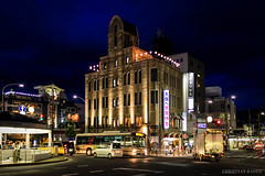 Asahi Beer Brewery Kyoto (Christian Kaden) Tags: beofjap bestofjapan canoneos60d city gion gionshijo japan kansai kioto kyoto panorama shijo stadt stadtansicht stadtbild stadtlandschaft urbanarea urbanerraum cityscape townpicture townscape としけいかん まちなみ パノラマ 京都 日本 日本一番 町 町並み 祇園 祇園四条 街 街並み 都市景観 都市空間 関西