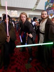 Jedi & Sith (Wrath of Con Pics) Tags: starwars cosplay sith quigonjinn anakinskywalker momocon momocon2015