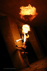 Fire Hazard (pluckphotography) Tags: fire model performer firebreathing katmcgurk katiamcgurk