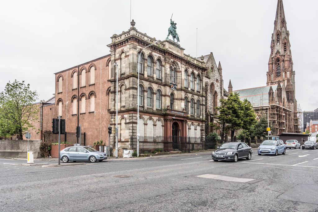 BELFAST CITY MAY 2015 [OLD ORANGE HALL] REF-106500