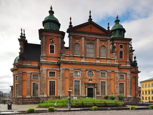 Kalmar domkyrka (efter regn) / Kalmar cathedral, Sweden