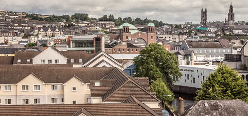 VIEWS OF THE CITY FROM THE WALLS OF ELIZABETH FORT [CORK] REF-106668