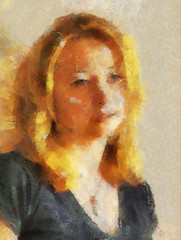 shannon3 (GeorgePennington) Tags: portrait paint digitalart pennington hss sliderssunday