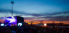 Widespread Panic Sunset (Shannon Tompkins) Tags: sunset music festival night river concert kentucky ky performance galaxy louisville s6 forecastle