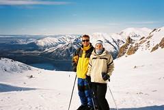 Skiing in Bariloche, Argentina