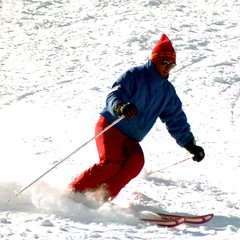 Skiing Like A Level 4 (wordman760) Tags: grayrocks skiing ski downhill snoweagleskischool sports saintjovite monttremblant laurentians laurentides québec canada winter snow sugarpeak outdoors csia level2 35mm