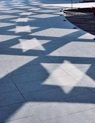 2010-06-28be Stars and diamonds ([Ananabanana]) Tags: nikon d40 gimp photoscape uk unitedkingdom london cityoflondon 1855mm 1855 nikkor nikon1855mmkitlens nikon1855mm nikonafsdx1855mm nikkor1855mm nikkorafsdx1855mm nikonistas nikonista building architecture city gherkin swissre normanfoster skyscraper glass reflection geometric triangle window stars starofdavid