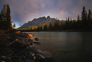 Sunrise at Castle Mountain