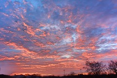 Clouds at Sunrise (Charles Dawson) Tags: clouds sky sunrise