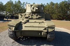 Cordele 99 - Georgia Veterans State Park (RNRobert) Tags: cordele crispcounty generalstuart georgia georgiastateveteranspark honey lighttank m3a1 afv armoredfightingvehicle