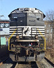 Idling 70 (DJ Witty) Tags: newark ns norfolksouthern locomotive train railroad freight newjersey emd