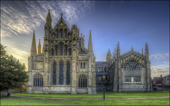 Ely Cathedral 17 (Darwinsgift) Tags: ely cathedral cambridgeshire isle hdr photomatix pce nikkor f35 24mm nikon d810