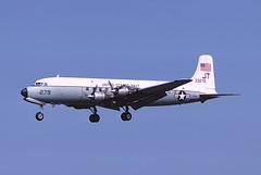 C-118A Liftmaster 53-3279 of VR-52 Det Washington DC (JimLeslie33) Tags: 533279 c118 c118a vr52 det washington dc usn usnr navy naval aviation olympus om1 nas willow grove dc6 douglas liftmaster jt jt279
