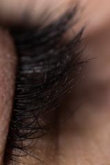Big eyelashes. (Lautaro Marhetti) Tags: eyelashes eyes macro inversion ring 1855mm nikon d3100