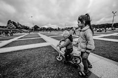 babysitter (tumivn) Tags: babysitter dalat vietnam street streetphotography monochrome blackandwhite