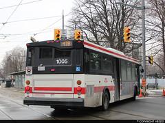 Toronto Transit Commission #1005 (vb5215's Transportation Gallery) Tags: ttc toronto transit commission 2006 orion vii hev