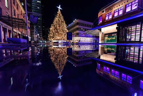 Christmas in New York's Seaport District