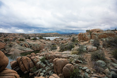 Watson Lake (Evan Arambul) Tags: watson lake moody weather hiking arizona az lakes prescott
