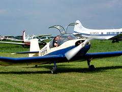 G-BAPR Jodel D11 Robin (amisbk196) Tags: gvfw gvfwe aircraft aviation amis fuji greatvintageflyingweekend flickr importedkeywordtags gbapr jodel d11 robin
