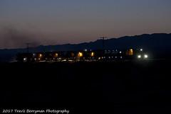 Rail Grinder approaching Amboy, CA (Travis Berryman) Tags: bnsf needlessub desertrailroading bagdad cadiz siberia