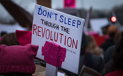 Womens March DC-20170121-TW Meetup _ 20170121 _ KMB_0339 (kevinbarry7) Tags: womensmarch washington dc feminism dump trump protest capital resist mall pence devos love trumps hate