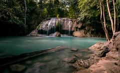 Erawan waterfall (Pathpop) Tags: waterfall thailand nataral kanchanaburi nikon d610 manfrotto nikkor1835