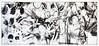 Senses - Iteration II (2016) Acrylic on paper 2065x915mm (mayakonakamura) Tags: tonydevarco regenerations collaboration mayakonakamura tokyo abstract painting acrylic paper