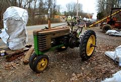 Old John Deere (Paul's Captures (paul-mashburn.artistwebsites.com)) Tags: tractor oldtractor johndeere bronco valentinemills