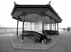 Seaside Shelter - New Brighton, UK (Paul_Dean) Tags: newbrighton seaside winter outofseason shelter victorian