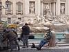 Roma - Trevi Fountain (JohnVenice) Tags: rome italy italians vendors trevi fountain roma
