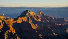 Sunset in Grand Canyon (Lena and Igor) Tags: travel us usa america arizona grandcanyon nationalpark canyon sunset scenic contrast rocks mountains dslr nikon d7000 nikkor 18300