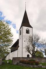 Vallstena kyrka, Gotland (Bochum1805) Tags: church medieval lime tar puts vit tjra kyrktorn