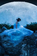 Homesickness (a_Valentine) Tags: moon home lady princess luna nostalgia nostalgic moonlight homesick selene veils homesickness avalentine ladywoman moonprincess
