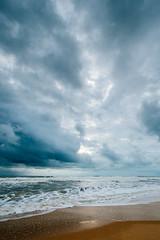 Monsoon (jamespwatson) Tags: ocean sunset sea india storm beach outdoors waves fuji outdoor goa fujifilm colva xseries