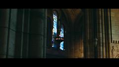 Sacré-Cœur (nextexitt) Tags: light holiday paris france church window colors architecture 35mm dark peace shadows darkness interior atmosphere journey silence walls atm église softlight sacrécœur journe pasdephoto