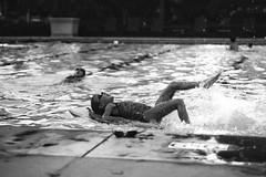 Night swim (MacVicar) Tags: pool night swim panasonic kickboard gm1