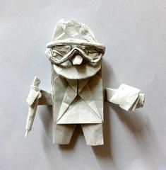 ORIGAMI NERD !! :P (Neelesh K) Tags: baby nerd angel skull spider origami dragon faces masks lincoln batman joker daredevil wyvern uchiha neelesh madara boxpleating origaminerd