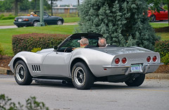 Getnold (Thumpr455) Tags: auto chevrolet sc car june nikon automobile stingray southcarolina convertible upstate voiture chevy corvette greenville d800 2015 carscoffee worldcars afnikkor80200mmf28d