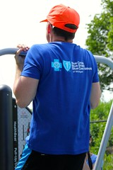 Detroit Riverfront Conservancy, Blue Cross Blue Shield of Michigan Fit Park Grand Opening