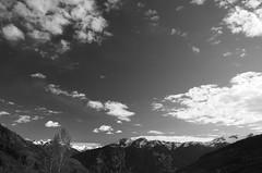 In the Alpine Air (ajcworldwide) Tags: bw canada mountains blackwhite bc alpine mountainside peaks pemberton explorebc