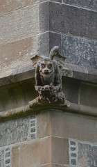 Bulging eyes - grotesque, Lews Castle, Stornoway (Monceau) Tags: eyes lewis grotesque hebrides bulging stornoway lewscastle