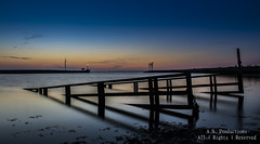 Sunset Lauwersoog/Waddenzee (A r j a n B) Tags: