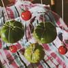stars of the earth (overthemoon) Tags: utata ip ironphotographer plaid tomatoes string weirdpp posterized square pyjamas greentomatoes suspended utata:project=ip246 explore 158 pajamas
