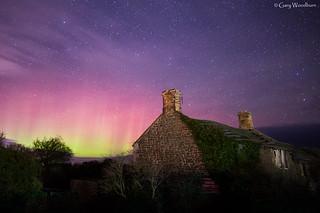 Christmas Day Aurora - Aurora Borealis, Embleton, Northumberland