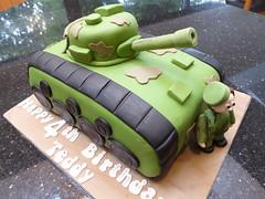 Tank Birthday cake (Victorious_Sponge) Tags: tank birthday cake boy