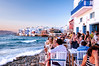 Mykonos (Kevin R Thornton) Tags: d90 mediterranean landscape sunset travel restaurant littlevenice city architecture greece nikon mykonos street sundowner mikonos egeo gr